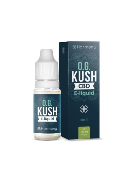 E-liquid Harmony Originals OG Kush 600mg CBD 10ml