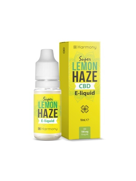 E-liquid Harmony Super Lemon Haze 0mg CBD 10ml
