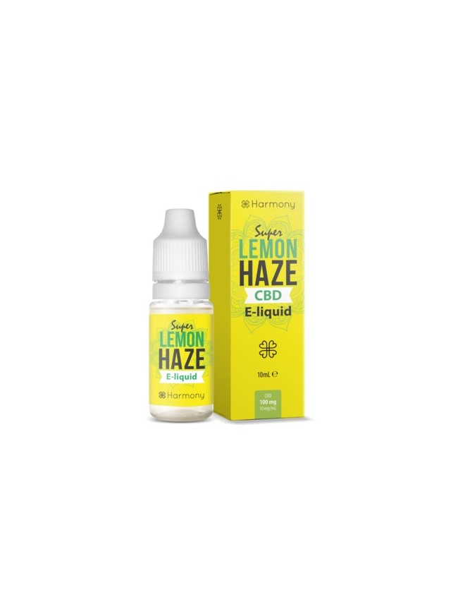 E-liquid Harmony Super Lemon Haze 100mg CBD 10ml