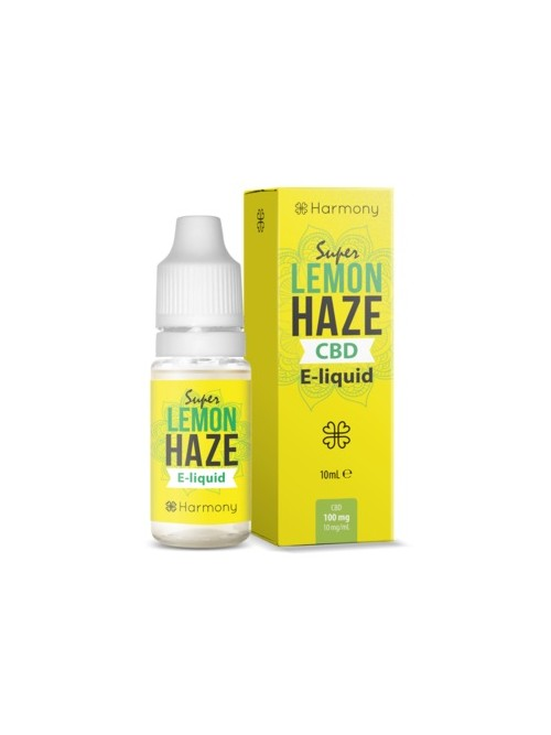 E-liquid Harmony Super Lemon Haze 600mg CBD 10ml
