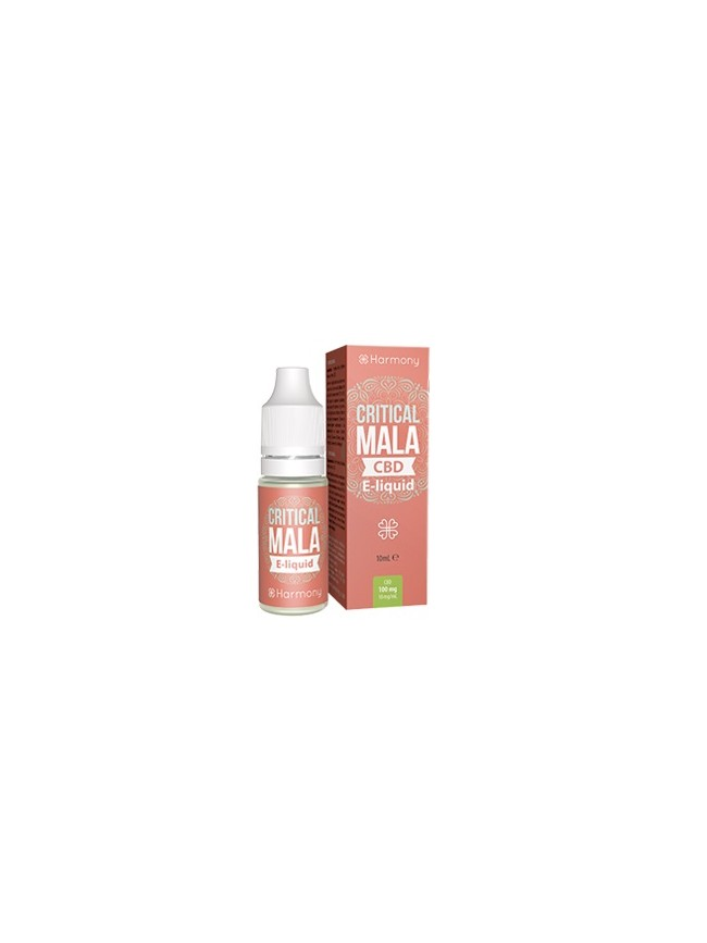 E-liquid Harmony CRITICAL MALA 600mg CBD 10ml