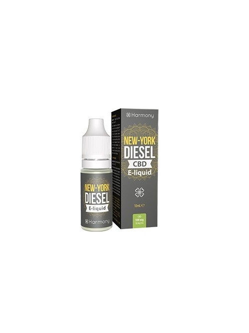 E-liquid Harmony NYC DIESEL 30mg CBD 10ml
