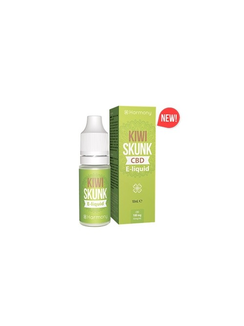 E-liquid Harmony Kiwi Skunk 600mg CBD 10ml