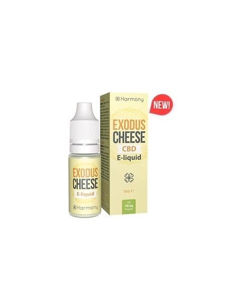 E-liquid Harmony Cheese 0mg CBD 10ml