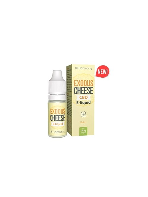 E-liquid Harmony Cheese 100mg CBD 10ml