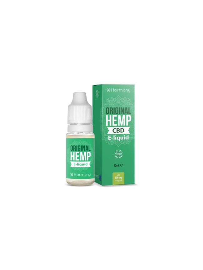 E-liquid Harmony original 100mg CBD 10ml