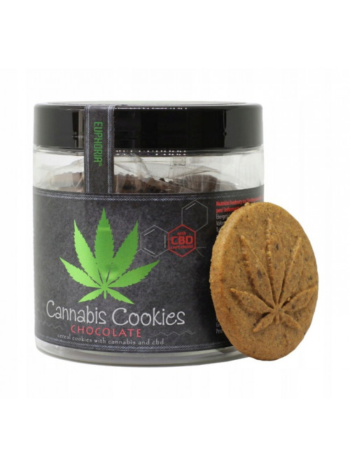 Ciasteczka Cannabis Cookies Chocolate 120 g