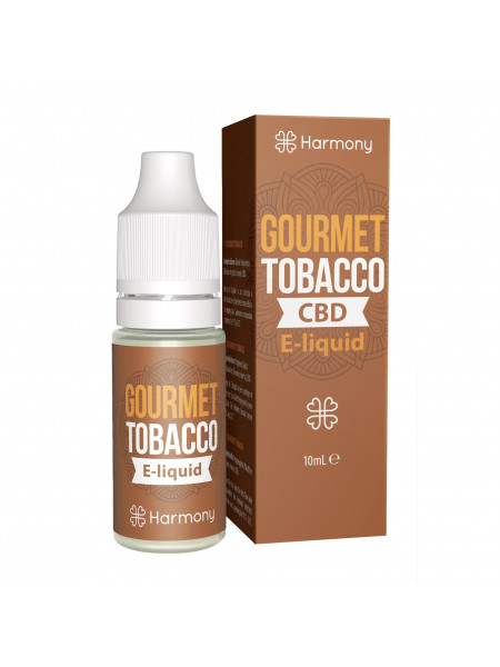 E-liquid Harmony Gourmet Tobacco 600mg CBD 10ml