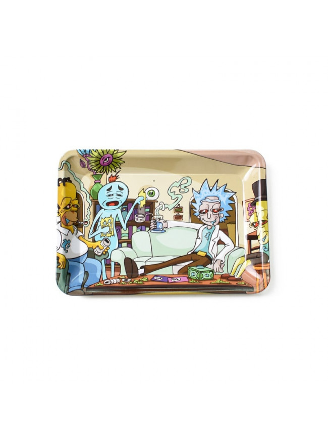Tacka metalowa do suszu CBD Rick and Morty