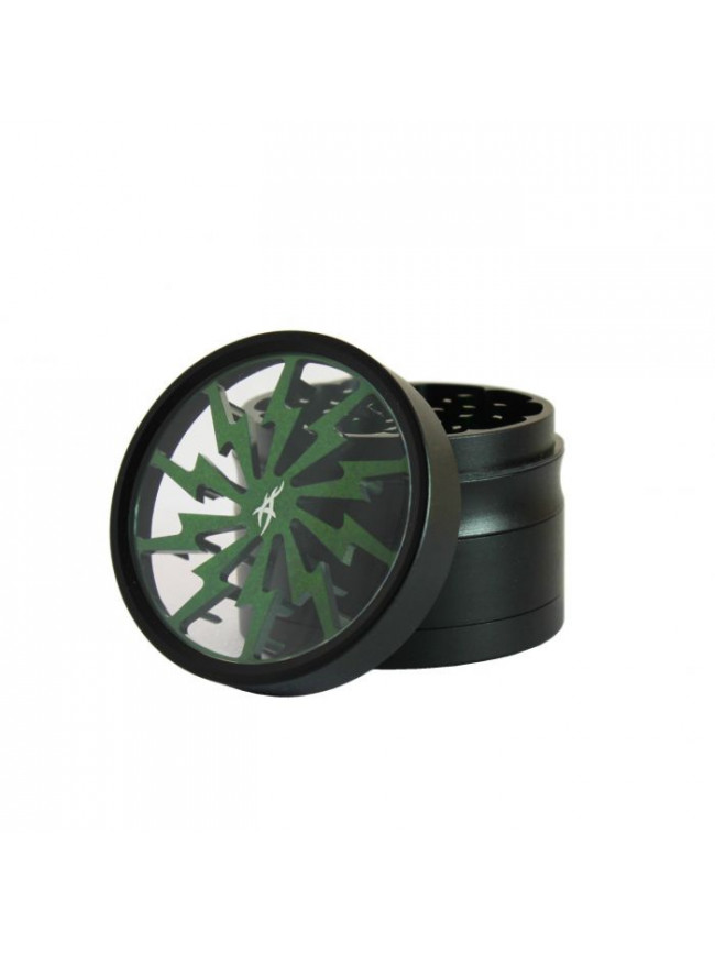 Grinder aluminiowy 'After Grow' - Thorinder green