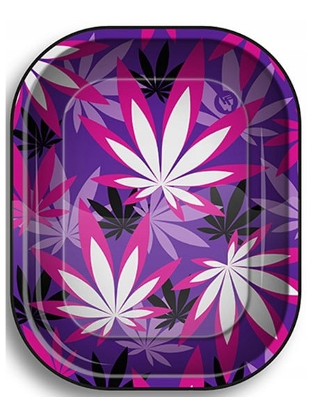 Tacka metalowa Weed Shapes - 18 x 12,5 cm