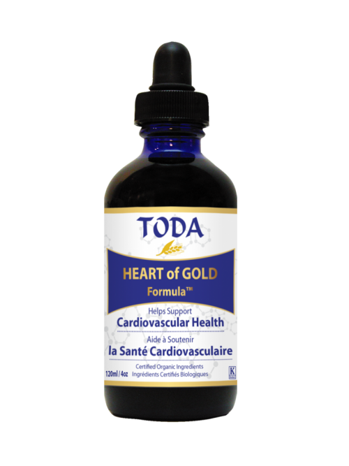 Krople TODA - HEARTofGOLD Formula by TODA™ - 120 ml