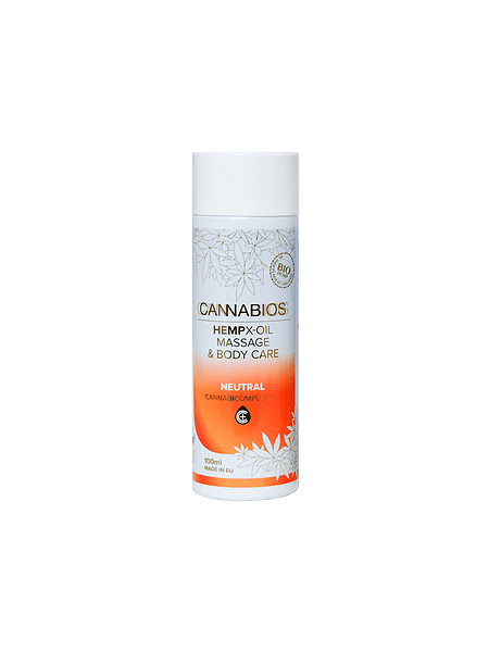 Olejek do masażu Cannabios X-oil Neutral 100ml