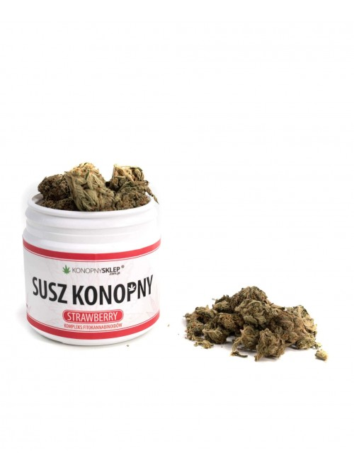 Susz konopny 4% CBD 10g Strawberry